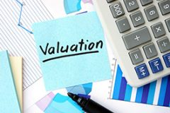 business valuation graphic