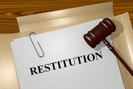 Restitution concept